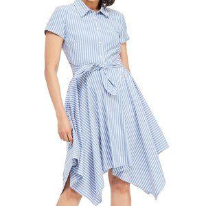 London Times Striped Shirt Dress BNWOT sz 18
